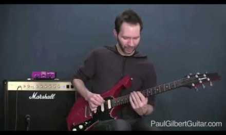 Rock Guitar Lesson: Paul Gilbert Teaches a Mixolydian Lick