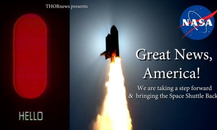 Great News! We are bringing back the SPACE SHUTTLE!