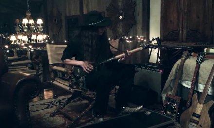 """""""Gravedigger Blues"""" – 3-String Shovel Guitar"""