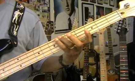 How To Play Super Easy Walking Electric Bass Exercise Bass Guitar