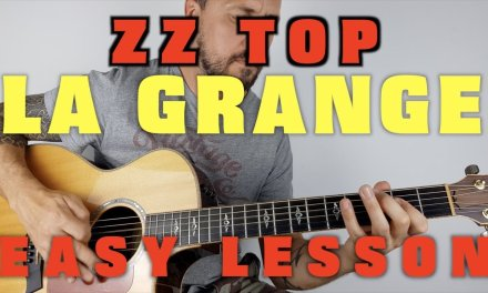 La Grange ZZ Top acoustic lesson