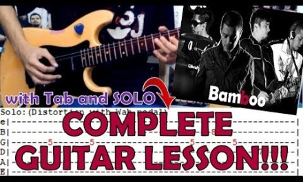 Hallelujah – Bamboo(Complete Guitar Lesson/Cover)with Chords and Tab
