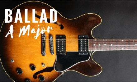 Sublime Ballad Backing Track Jam in A