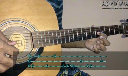 Aankh Hai Bhari Bhari Guitar Tabs/Lead Lesson | Tum Se Achcha Kaun Hai | By Acoustic Imran