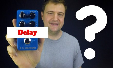 Delay Pedal for Jazz Guitar? – Jazz Guitar Vlog – August 9 2017