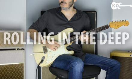 Adele – Rolling in the Deep – Electric Guitar Cover by Kfir Ochaion