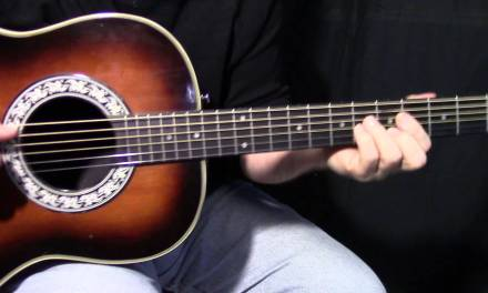 """how to play """"Ordinary Love"""" by U2 – Tonight Show – Jimmy Fallon – acoustic guitar lesson"""