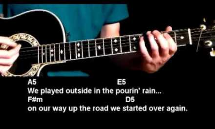 How to play Life By The Drop – SRV – Stevie Ray Vaughn – Best Beginner Guitar Lessons