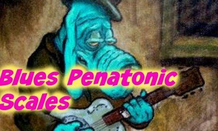 Pentatonic guitar lick plus Scale Exercise (D Minor)