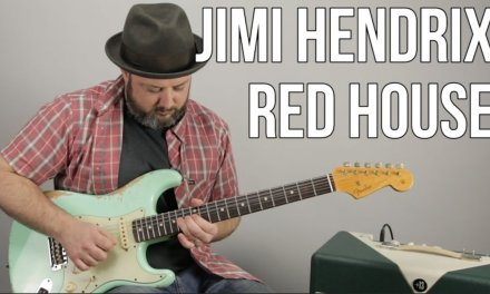 Jimi Hendrix – Red House – Inspired Guitar Lesson