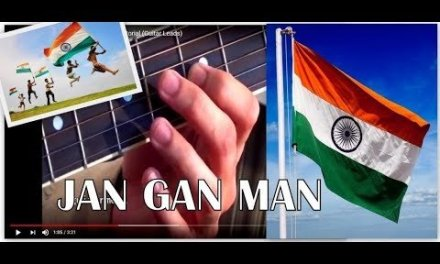Learn How to Play Indian National Anthem (Jan Gan Man) on Guitar | Chords, Tabs, Lesson, Tutorial