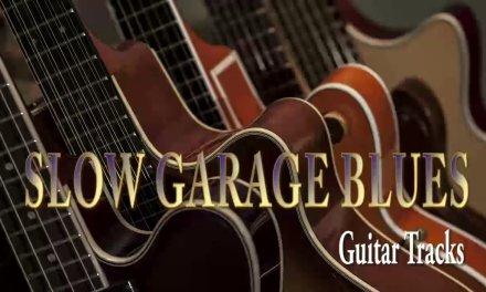 SLOW GARAGE BLUES (A major) – Guitar Backing Tracks