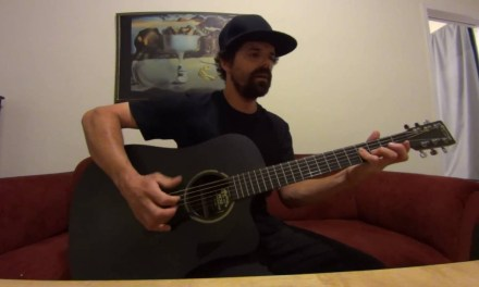 Encore (The Red Hot Chili Peppers) acoustic cover by Joel Goguen