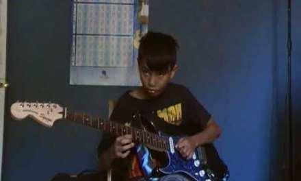 Blues turns rock