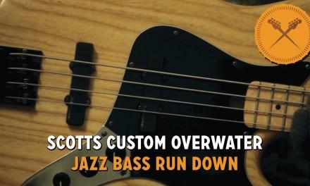 Scott's Custom Overwater Jazz Bass Run Down!