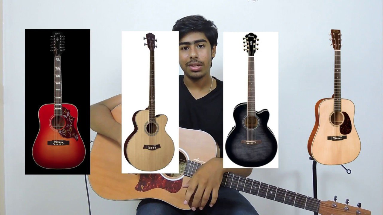 Beginner Guitar Lesson 2 Different Types Of Guitar In Hindi