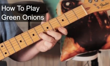 'Green Onions' Steve Cropper Guitar Lesson
