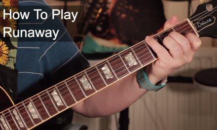 'Runaway' Del Shannon Guitar Lesson Including Organ Solo