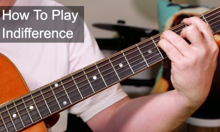 'Indifference' Prince Guitar Lesson