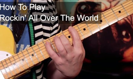 'Rockin' All Over The World' Status Quo Guitar Lesson