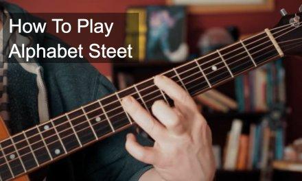 Alphabet Street Prince Guitar Tutorial