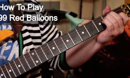 '99 Red Balloons' Nena Guitar Lesson