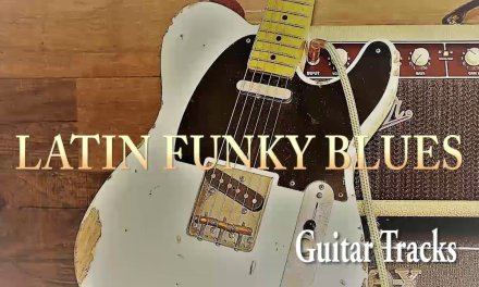LATIN FUNKY BLUES in A Minor (Backing Track) – Guitar Tracks
