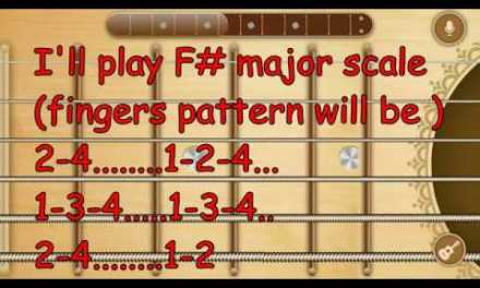 A1   Guitar Lesson 1   How To Play Any Major Scale   Only for Beginners