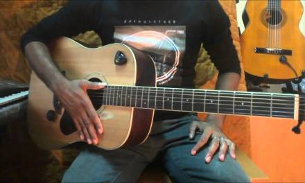 Asela(OFF ROAD Live Band) with sinhala guitar lesson 5 0768824390
