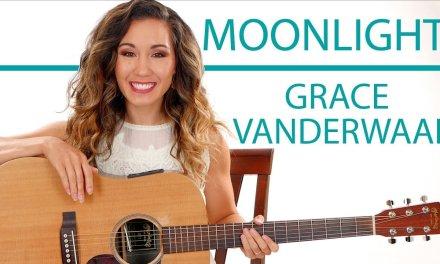 """""""Moonlight"""" by Grace VanderWaal – Fingerpicking and Chords Guitar Tutorial"""