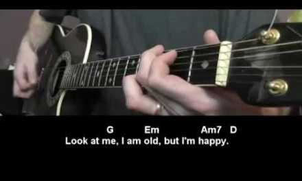 Father and Son by Cat Stevens Guitar Lesson