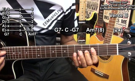 DIAMOND GIRL Seals And Croft Guitar Chords Lesson EricBlackmonGuitar HD