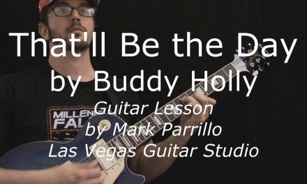 That'll Be the Day by Buddy Holly Guitar Lesson