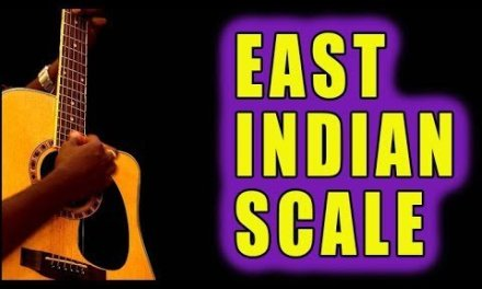 Incredible East Indian Scale – GUITAR – RAGA [Charukeshi]