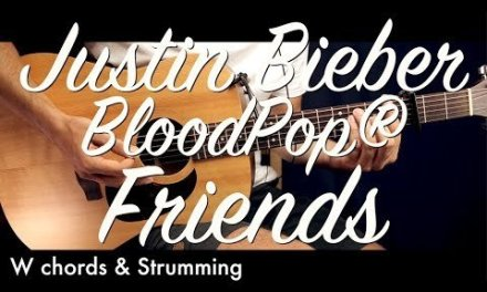 Justin Bieber & BloodPop – Friends Guitar Lesson Tutorial w Chords Guitar Cover How To Play Friends