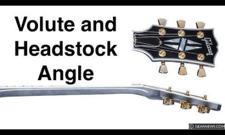 Guitar Volute and Heastock Angles