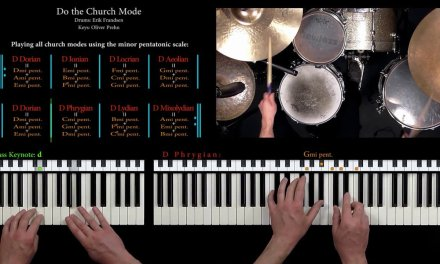"""""""Do the Church Mode"""" – Spacy Jazz Rock Tune, Rhodes, bass guitar and Drums"""
