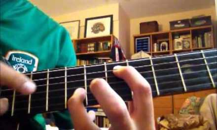 very easy turorial on classical guitar. blackbird by the beatles