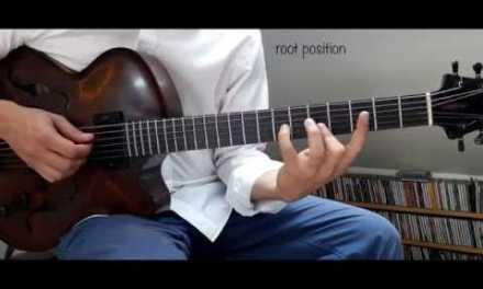Jazz Guitar Mini Lessons #19 : Drop2 voicings and beyond !