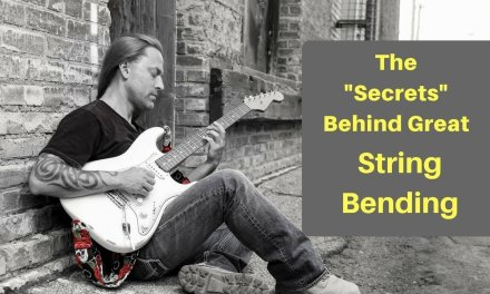 Steve Stine Live Guitar Lesson – The Secrets Behind Great String Bending