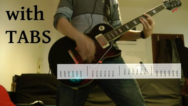 Volbeat – Lola Montez Guitar Cover w/Tabs on screen   The Glog