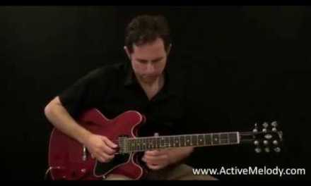 The Blues Scale Minor Pentatonic and the Major Pentatonic Scales on the Guitar