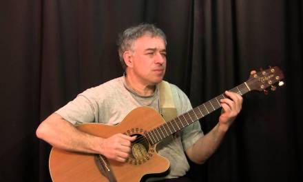 Faithfully, Journey, acoustic guitar cover, Jake Reichbart