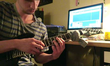 """Owl City – """"Fireflies"""" – Intro (Tapped on Electric Guitar)"""