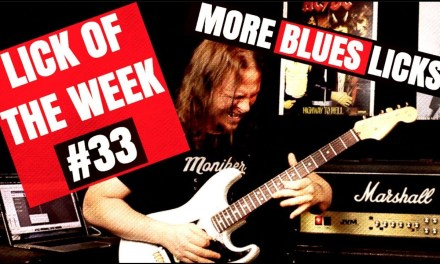 Blues Guitar Lesson | How To Combine Major & Minor Pentatonic Scales | Lick Of The Week #33