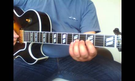 jazz guitar lesson : swing in your mind