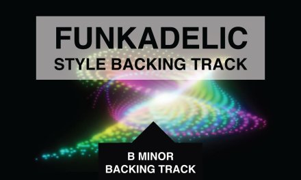 Funkadelic Style Psychedelic Rock Backing Track in B Minor