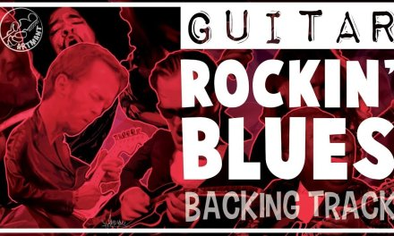 Blues Rock Backing Track in G Minor