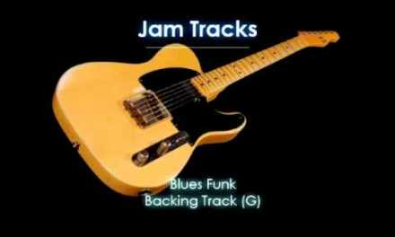 Blues Funk Backing Track  – TheGuitarLab.net –