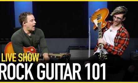 Rock Guitar 101 – Live Guitar Lesson